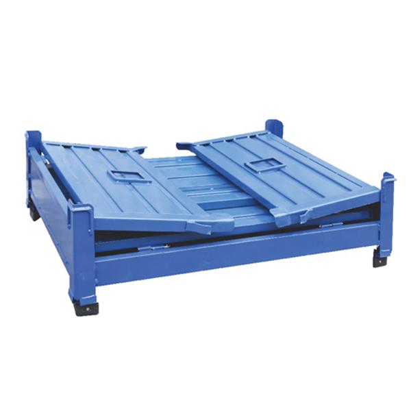 折叠式铁板仓储笼
