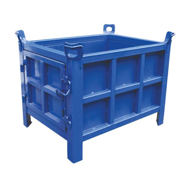 固定式铁板仓储笼