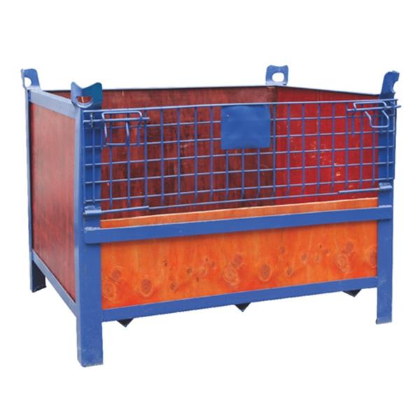 固定式铁丝仓储笼