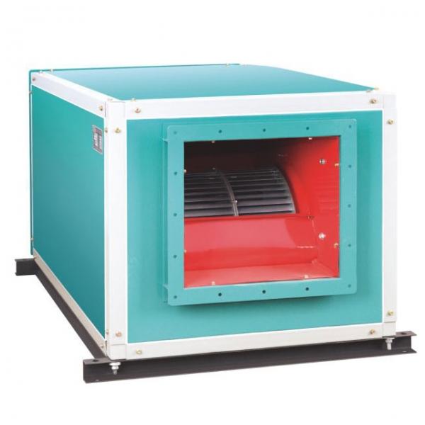 HTFC型低噪声通风排烟两用柜式离心风机